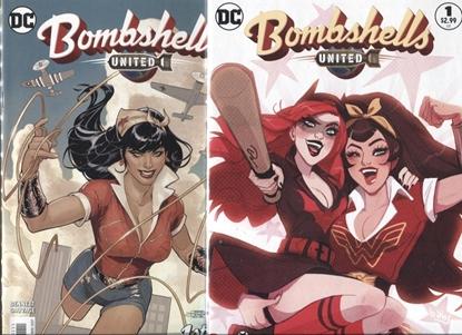 Picture of DC COMICS BOMBSHELLS UNITED #1 COVER A + B SET