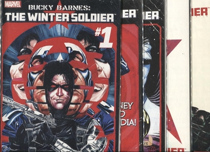 Picture of BUCKY BARNES WINTER SOLDIER #1-5 MAN ON WALL