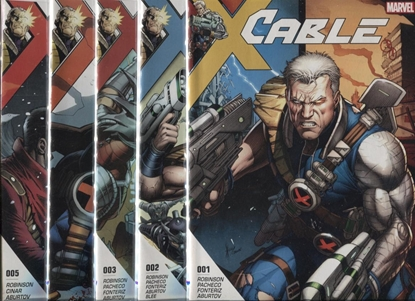 Picture of CABLE 2017 #1-5 CONQUEST SET
