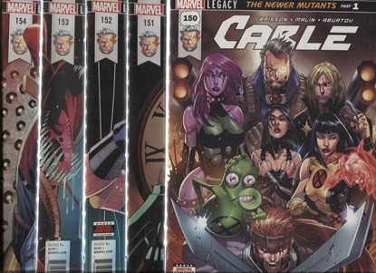 Picture of CABLE #150-154 THE NEWER MUTANTS SET