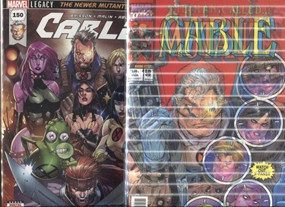 Picture of CABLE #150 1ST PRINT AND LENTICULAR