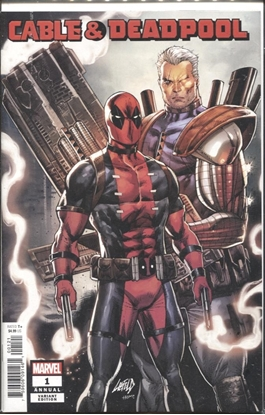 Picture of CABLE DEADPOOL ANNUAL #1 LIEFELD VAR
