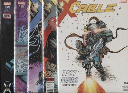 Picture of CABLE #155-159 PAST FEARS SET