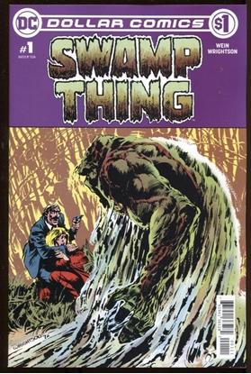 Picture of DOLLAR COMICS SWAMP THING #1