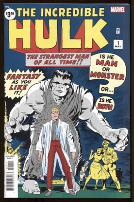 Picture of INCREDIBLE HULK #1 FACSIMILE EDITION