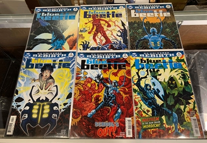 Picture of BLUE BEETLE (2016) #1-18 SET VF/NM