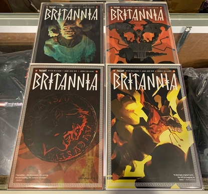 Picture of BRITANNIA (2016) #1-4 MIX PRINT SET NM
