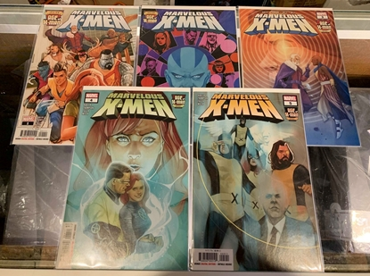 Picture of AGE OF X-MAN MARVELOUS X-MEN (2019)  #1-5 1ST PRINT SET NM