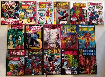 Picture of MARVEL 80YRS REFRIGERATOR MAGNET SET OF 16 NEW
