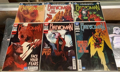 Picture of BATWOMAN (2017) #7-12 1ST PRINT SET REBIRTH