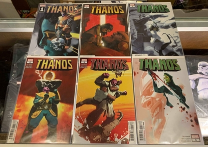 Picture of THANOS (2019) #1-6 1SPRINT SET NM