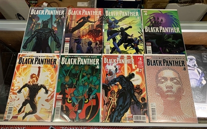 Picture of BLACK PANTHER (2015) #1-16 1ST PRINT SET NM