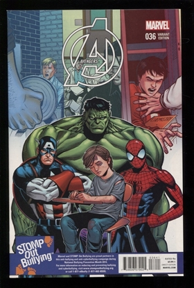 Picture of AVENGERS (2013) #36 STOMP OUT BULLYING CHEN VAR TRO NM
