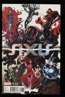 Picture of AVENGERS AND X-MEN AXIS (2014) #1 (OF 9) DEODATO VAR NM