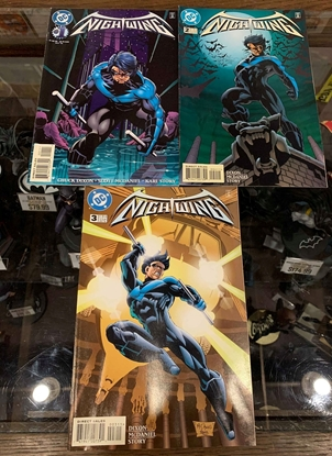 Picture of NIGHTWING (1996) #1-3 1ST PRINT SET FN WATER DAMAGE