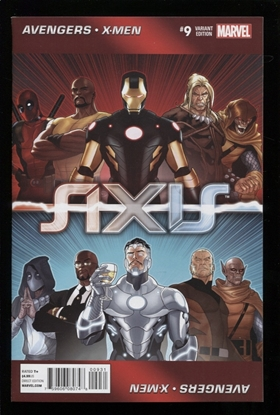 Picture of AVENGERS AND X-MEN AXIS (2014)  #9 (OF 9) HUGHES NM