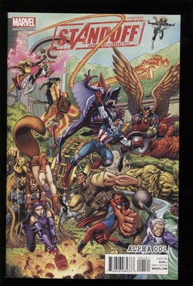Picture of AVENGERS STANDOFF ASSAULT ON PLEASANT HILL ALPHA #1 VAR CVR NM