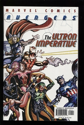 Picture of AVENGERS THE ULTRON IMPERATIVE (2001) #1 9.6 NM+