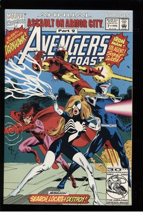 Picture of AVENGERS WEST COAST (1986) ANNUAL #7 9.2 NM-