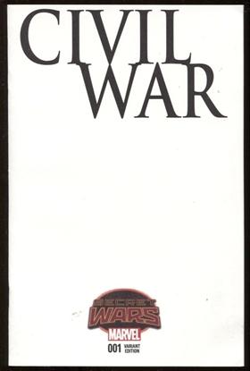 Picture of CIVIL WAR #1 BLANK VAR