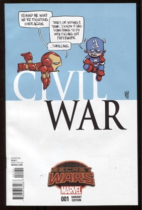 Picture of CIVIL WAR #1 YOUNG VAR