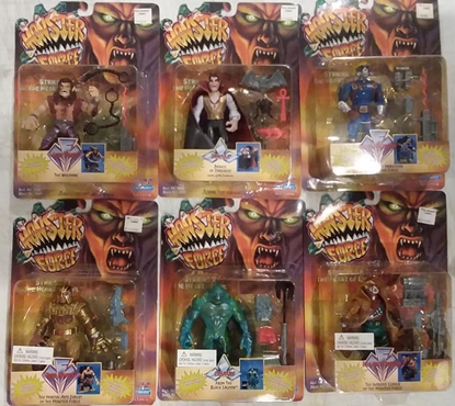 Picture of PLAYMATES MONSTER FORCE ACTION FIGURES SET OF 6 DRACULA CREATURE