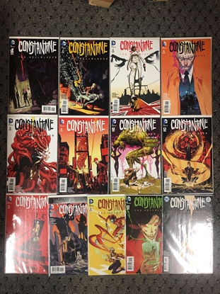 Picture of CONSTANTINE THE HELLBLAZER #1-13 2015 SET