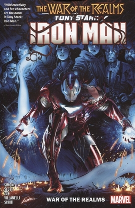 Picture of TONY STARK IRON MAN TP VOL 03 WAR OF REALMS