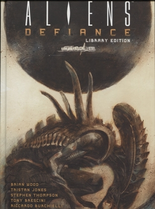 Picture of ALIENS DEFIANCE LIBRARY ED HC VOL 01