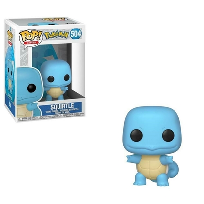 Picture of FUNKO POP GAMES POKEMON SQUIRTLE #504 NEW VINYL FIGURE
