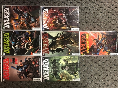 Picture of DCEASED #1-6 + GOOD DAY TO DIE SET