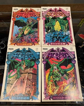 Picture of DRAGON (1987) #1 2 3 4 SET FN COMICS INTERVIEW