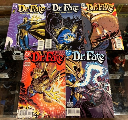 Picture of DR.FATE (2003) #1-5 SET VF+