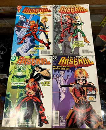 Picture of ARSENAL (1998) #1-4 VF  SET