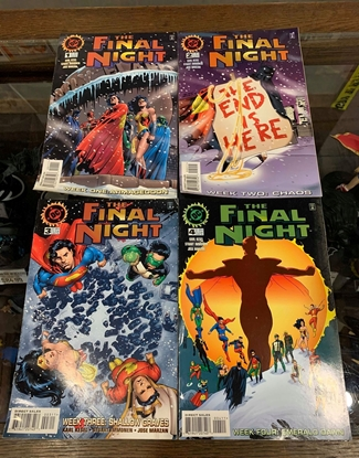 Picture of FINAL NIGHT (1996) #1-4 1ST PRINT SET FN