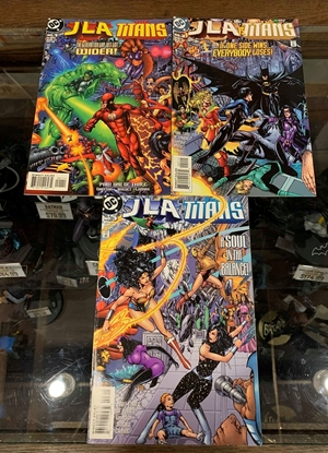 Picture of JLA TITANS (1998) #1-3 1ST PRINT SET VF