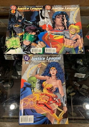 Picture of JUSTICE LEAGUE MIDSUMMER'S NIGHTMARE #1-3 VF