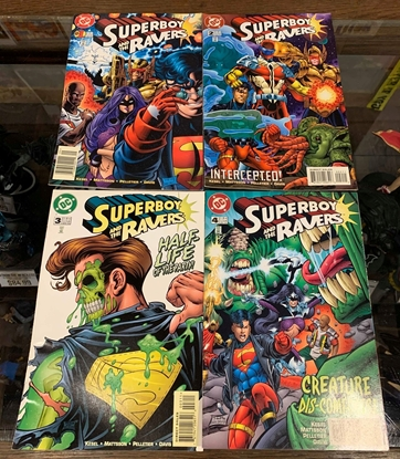 Picture of SUPERBOY AND THE RAVERS (1996) #1-4 1ST PRINT SET FN