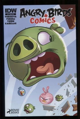 Picture of ANGRY BIRDS COMICS (2014) #5 SUBSCRIPTION VAR