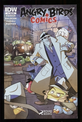 Picture of ANGRY BIRDS COMICS (2014) #4 SUBSCRIPTION VAR