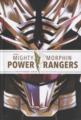Picture of MIGHTY MORPHIN POWER RANGERS DLX HC SHATTERED GRID