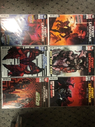 Picture of EVENT LEVIATHAN #1-6 COVER A SET