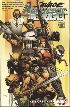 Picture of SAVAGE AVENGERS TPB VOL 1 CITY OF SICKLES