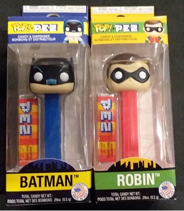 Picture of FUNKO POP! PEZ BATMAN & ROBIN SET NEW