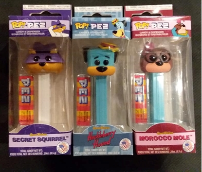 Picture of FUNKO POP! PEZ HANNA BARBERA SET MOROCCO MOLE HUCKLBERRY HOUND SECRET SQUIRREL NEW