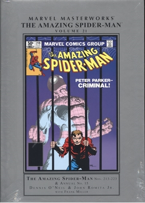 Picture of MMW AMAZING SPIDER-MAN HC VOL 21