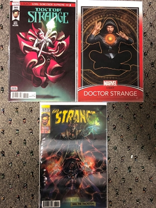 Picture of DOCTOR STRANGE #381 3-COVER SET
