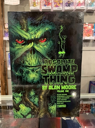 Picture of ABSOLUTE SWAMP THING HC VOL 01 BY ALAN MOORE
