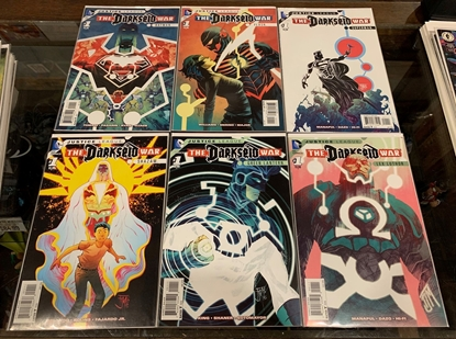 Picture of JUSTICE LEAGUE THE DARKSEID WAR (2015) BATMAN SUPERMAN  FLASH SHAZAM #1 6 PART SET VF/NM