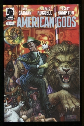 Picture of NEIL GAIMAN AMERICAN GODS SHADOWS (2017) #5 (MR)